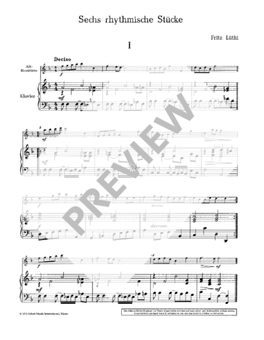 Various: Modern Music Book for Treble Recorder and Piano