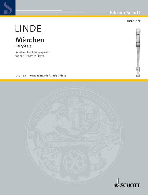 Linde: Fairy-tale for one Recorder Player