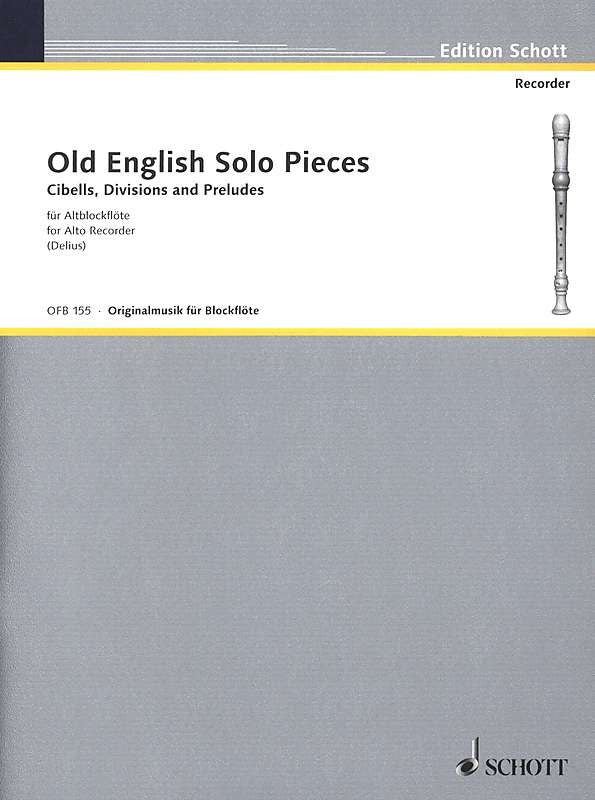 Various: Old English Solo Pieces for Treble Recorder