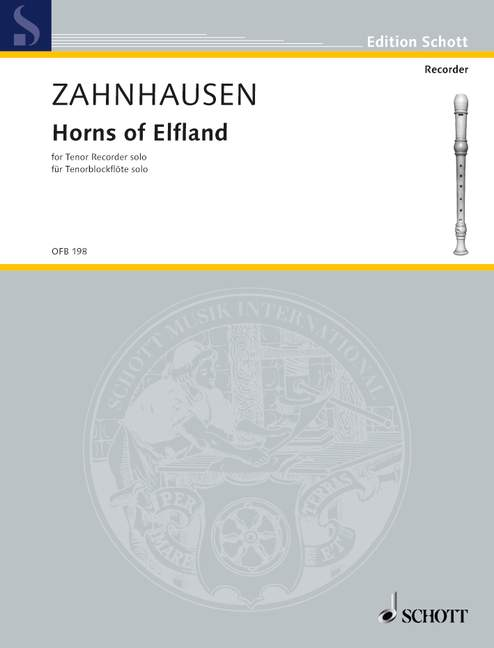 Zahnhausen: Horns of Elfland for Tenor Recorder Solo