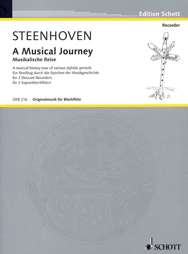 Steenhoven: A Musical Journey for 2 Descant Recorders
