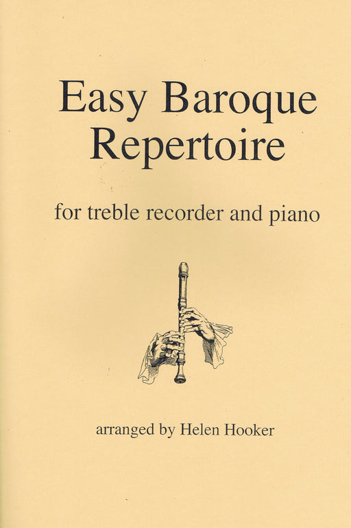 Various: Easy Baroque Repertoire for Treble Recorder and Piano