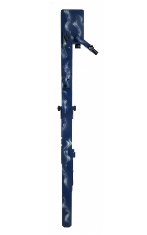 Paetzold MASTER Contra Bass Recorder in Blue Wave Finish by Kunath