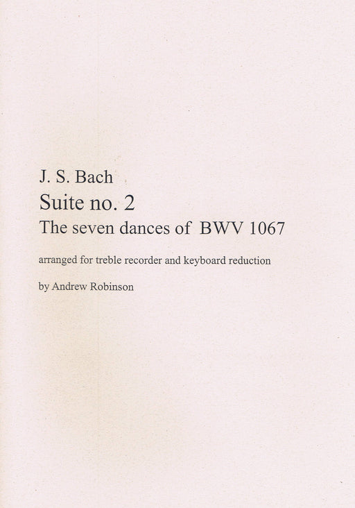 Bach: Suite No. 2