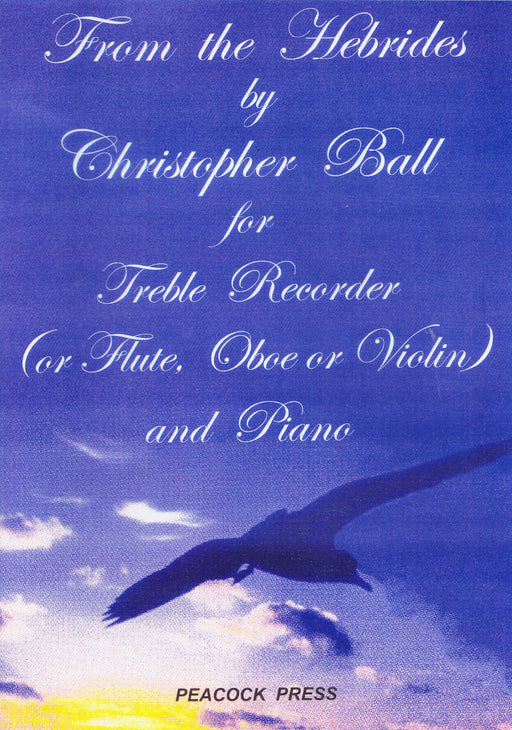 Ball: From the Hebrides for Treble Recorder and Piano