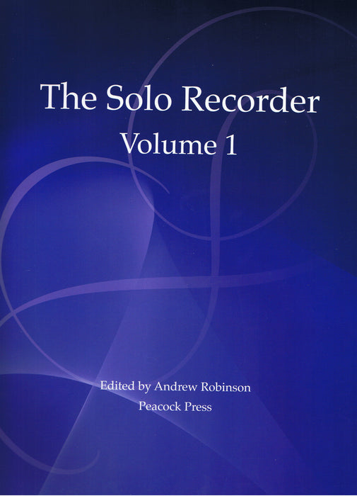 Various: The Solo Recorder, Volume 1