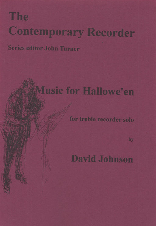Johnson: Music for Hallowe'en for Treble Recorder Solo