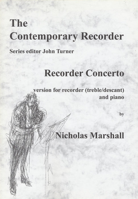 Marshall: Recorder Concerto - Piano Reduction