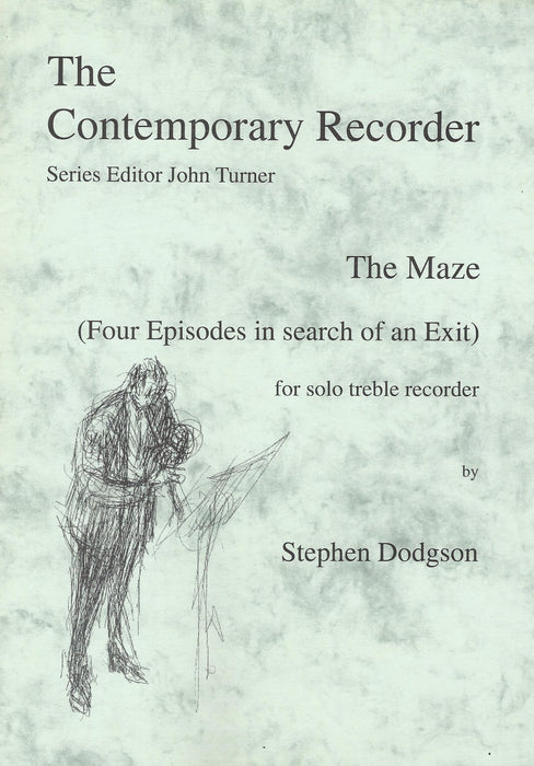 Dodgson: The Maze (4 Episodes in search of an Exit) for Solo Treble Recorder
