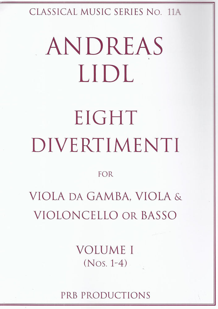 Lidl: Eight Divertimenti, Vol. 1