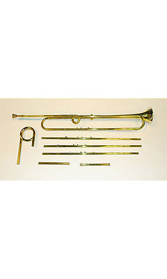 Natural Trumpet with Lacquered Finish by Rath @ A415/A440 with C and D crooks including mouthpiece and case