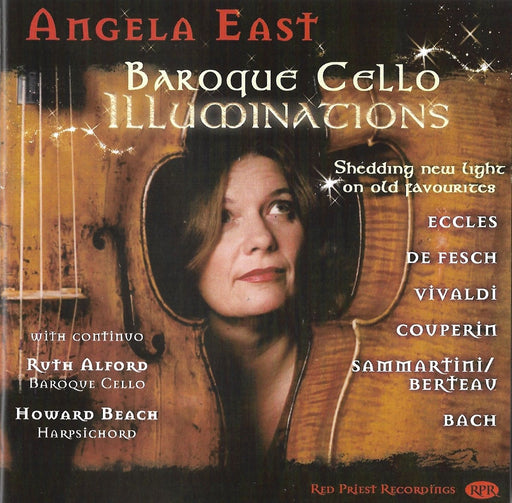 Angela East: Baroque Cello Illuminations CD
