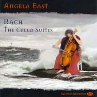 Angela East: Bach - The Cello Suites CD