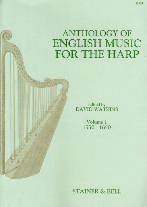Watkins (ed.): Anthology of English Music for the Harp, Vol. 1