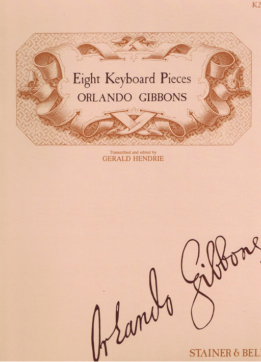 Gibbons: Eight Keyboard Pieces