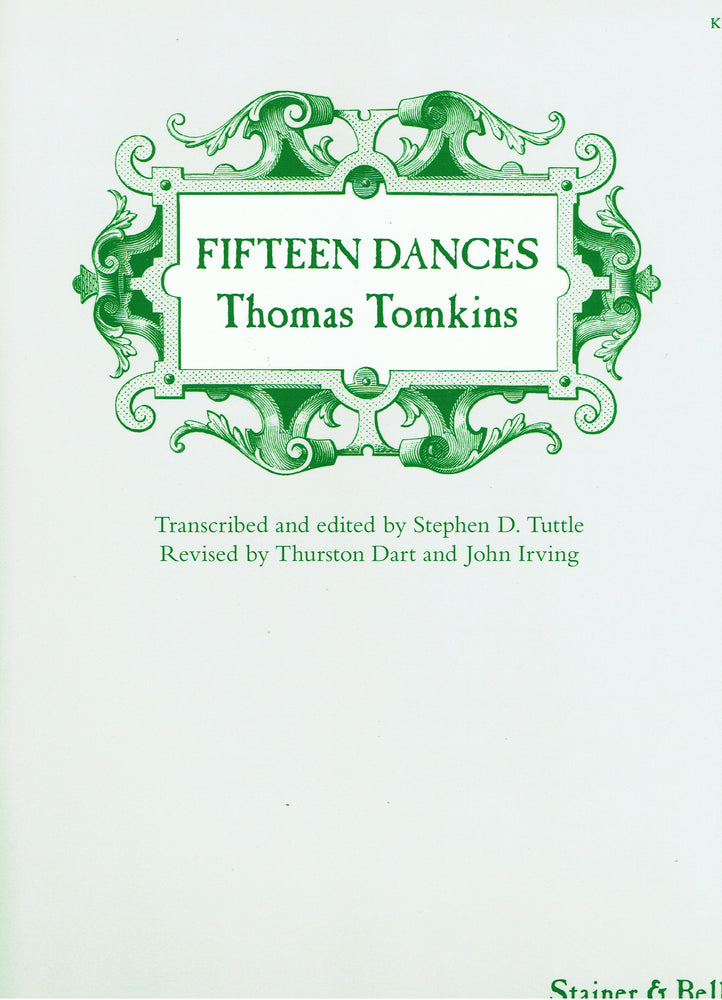 Tomkins: Fifteen Dances
