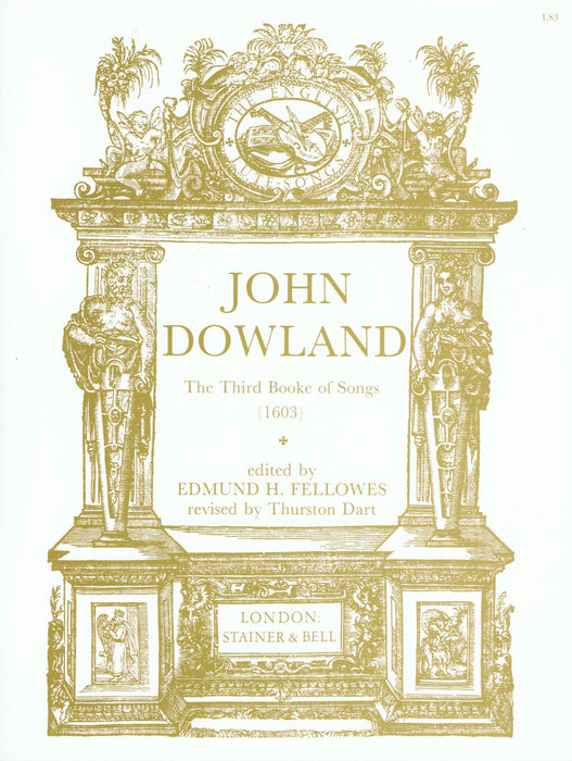 Dowland: The Third Booke of Songs (1603)