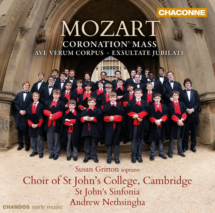 Mozart: Coronation Mass CD