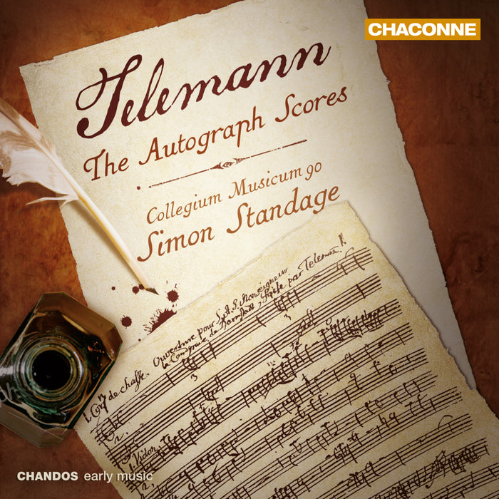 Telemann: The Autograph Scores CD