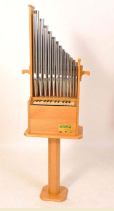EMS 2ft Portative Organ with Auto Play by Early Music Shop