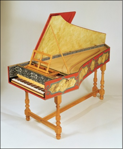TPW Flemish Single Harpsichord Kit after Ruckers by The Paris Workshop