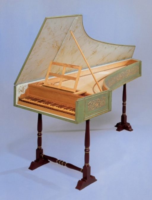 TPW Italian Neapolitan Single Harpsichord Kit by The Paris Workshop