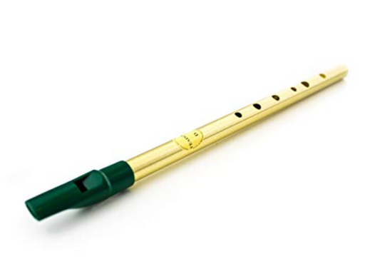 Feadóg Soprano Whistle in C - brass finish