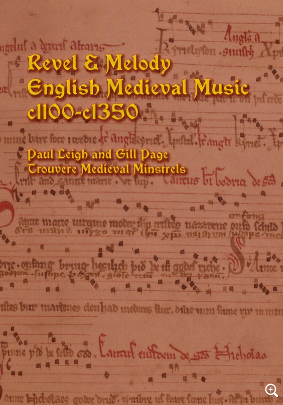 Revel & Melody - English Medieval Music c1100-c1350 - 12 medieval pieces in modern notation