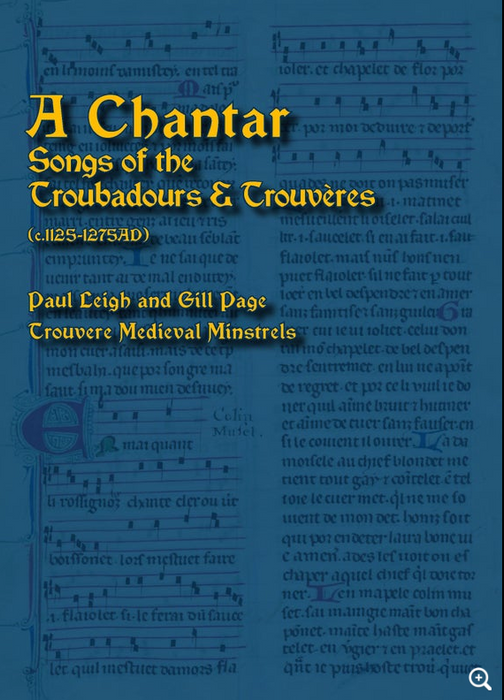 A Chantar - Songs of the Troubadours and Trouvères - booklet