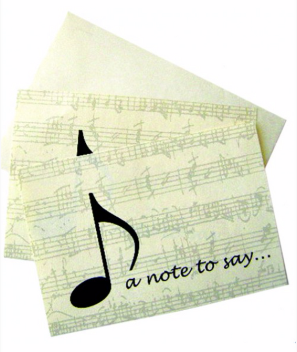 Stationery: Note to Say Notelet Set