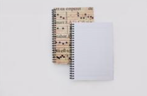 Stationery: A5 Notebooks with a St Cecilia Design
