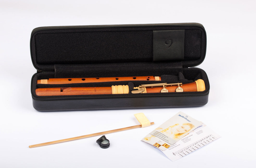 Mollenhauer Dream Edition Tenor Recorder in Plumwood