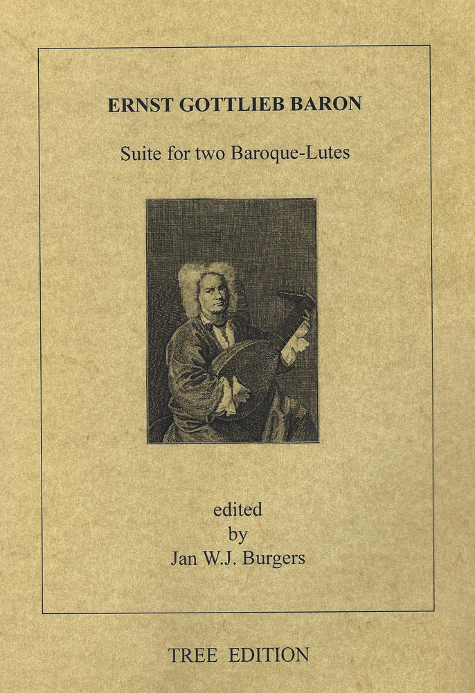 Baron: Suite for 2 Baroque Lutes