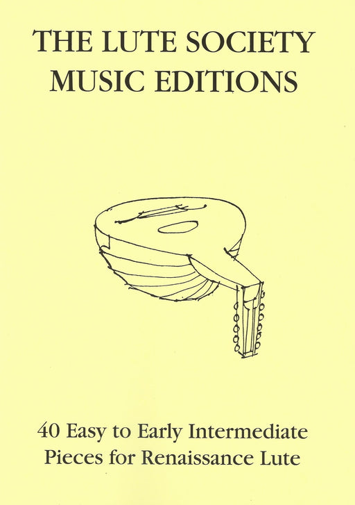 Various: 40 Easy to Early Intermediate Pieces for Renaissance Lute