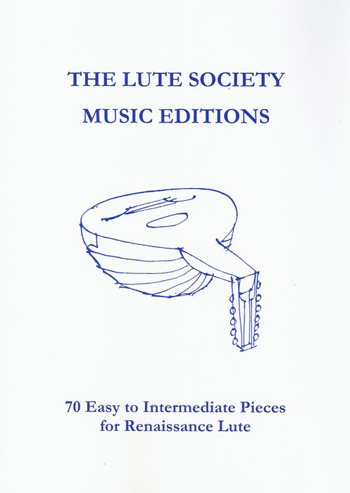 Various: 70 Easy to Intermediate Pieces for Renaissance Lute