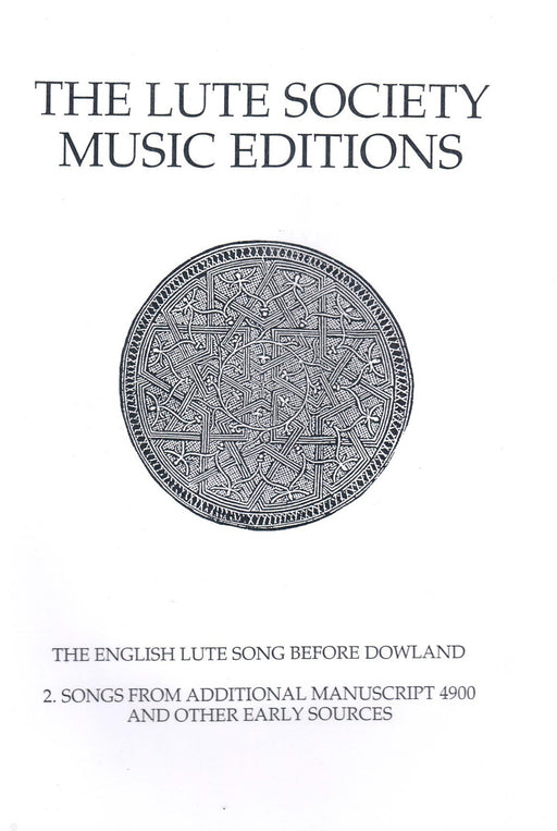 Various: The English Lute Song Before Dowland, Vol. 2