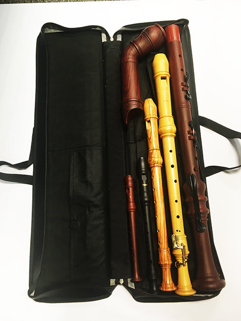 Canvas SSATB Recorder Consort Bag by Triebert