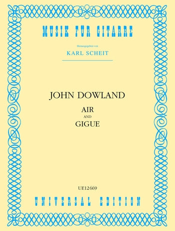 Dowland: Air and Gigue for Guitar