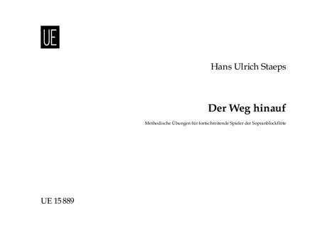 Staeps: Der Weg hinauf (Methodological exercises) for Descant Recorder