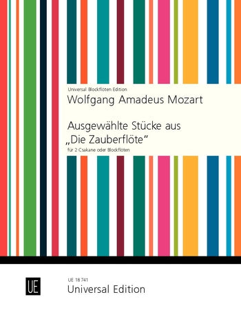 Mozart: Selected Pieces from The Magic Flute for Recorder Duet