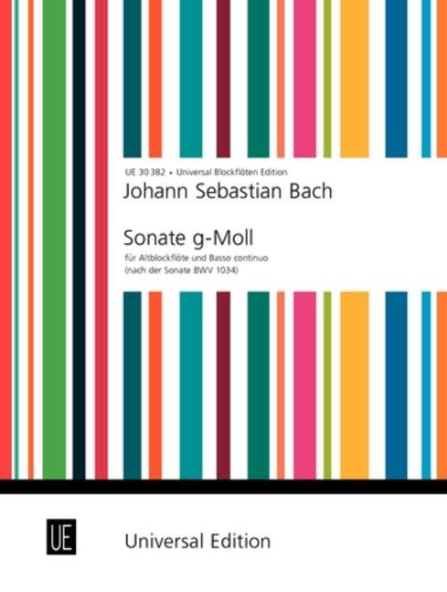 Bach: Sonata in G Minor for Treble Recorder and Basso Continuo