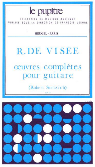 De Visee: Oeuvres completes for Guitar