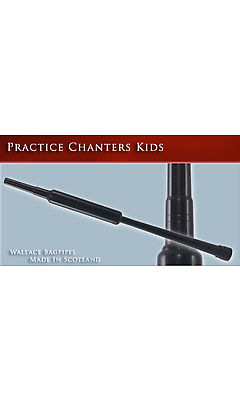 Wallace Practice Chanter - Child - includes windcap/blowpipe and reed