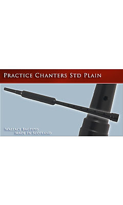 Wallace Practice Chanter - Standard - includes windcap/blowpipe and reed