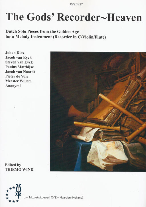 Various: The Gods' Recorder Heaven for Descant Recorder Solo