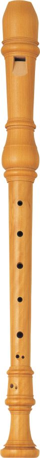 Yamaha YRA61 Treble (Alto) Recorder in Boxwood