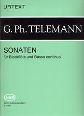 Telemann: Sonatas for Treble Recorder and Basso Continuo