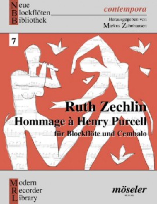 Zechlin: Hommage to Henry Purcell for Soprano Recorder & Keyboard