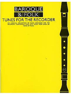 Various: Baroque and Folk Tunes for the Recorder