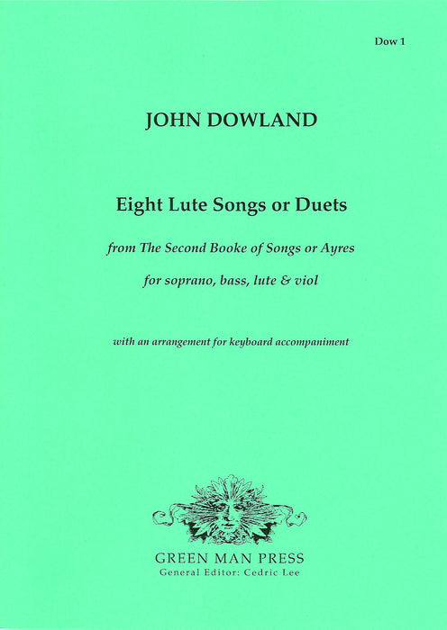 Dowland: Eight Songs for two voices